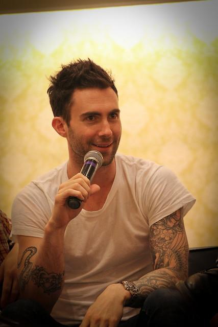 Header of Adam Levine