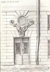 23 Puerta modernista Riga