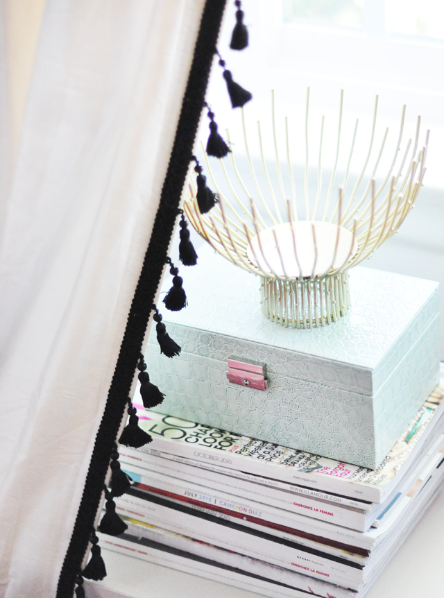 Take Your Curtains From Drab To Fab My Ikea Dressers Makeover Love Maegan