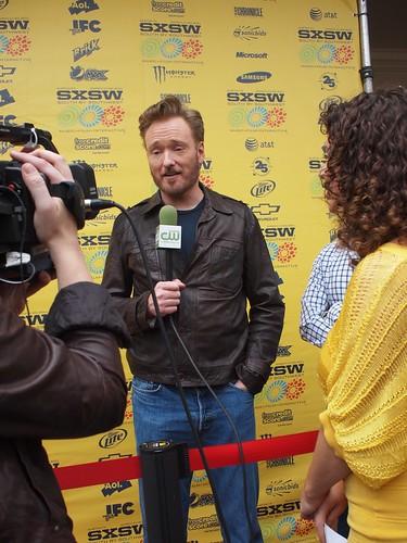 Conan O' Brian film screening at SXSW 2011