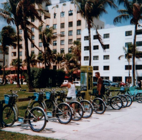 Bicycle Rental On South Beach