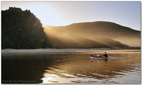 Nature's Valley Sunrise Paddler
