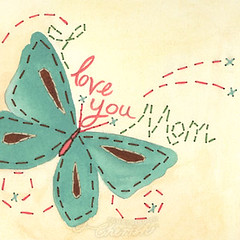 Love You Mom Butterfly - Something to Cherish
