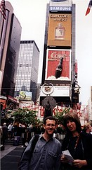 Times Square with Goga