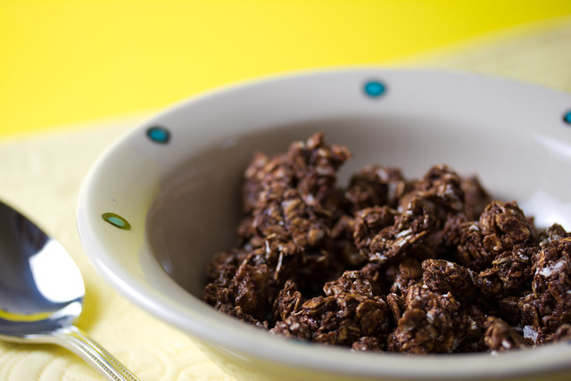 Vegan Chocolate Peanut Butter Granola