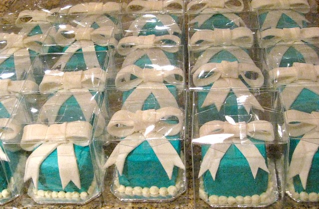 Tiffanys Bridal Shower Favors