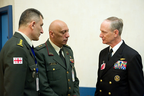 Military Committee in Chiefs of Defence Session with Georgia