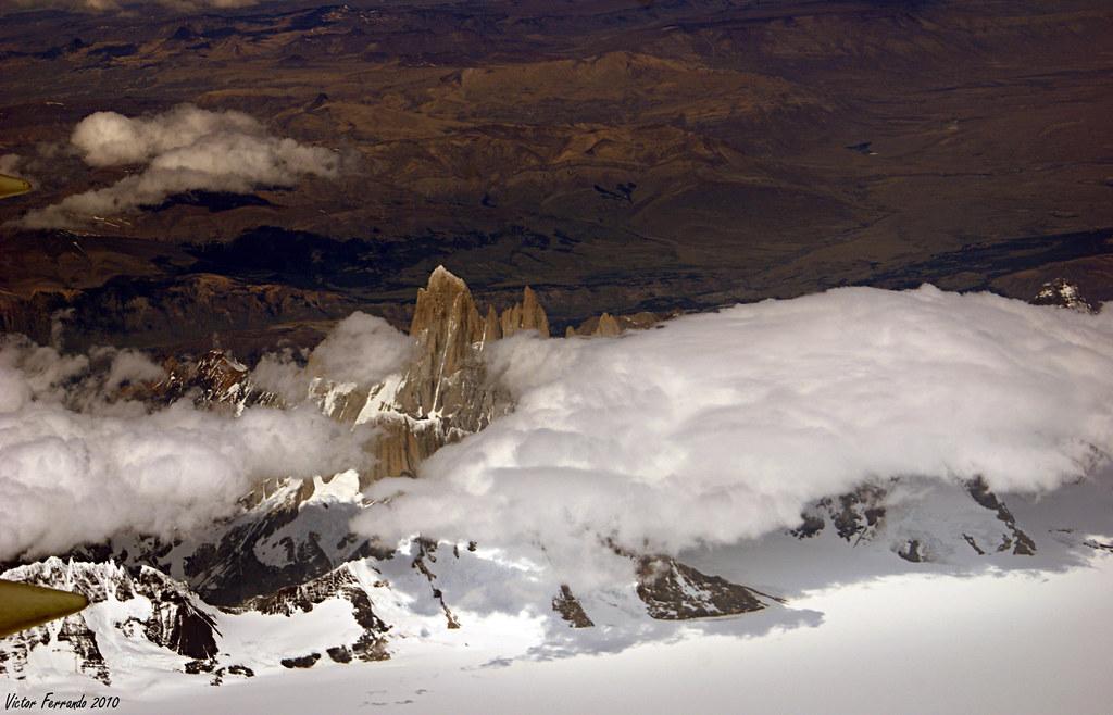 Patagonia - Chile - sobrevolando Los Andes