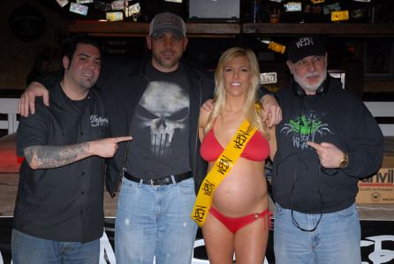 Pregnant Bikini contest Winner. Miss Morning Sickness 2011.