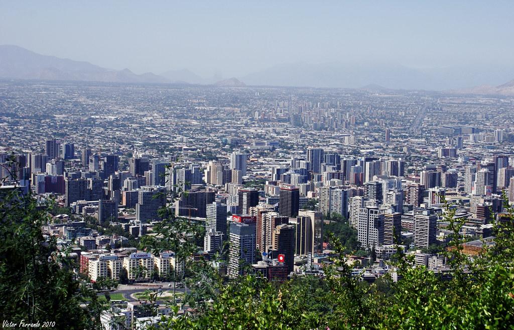 Cerro San Cristobal - Santiago de Chile