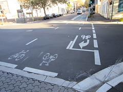 Cycleway hook turn?