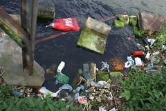Afval in het water