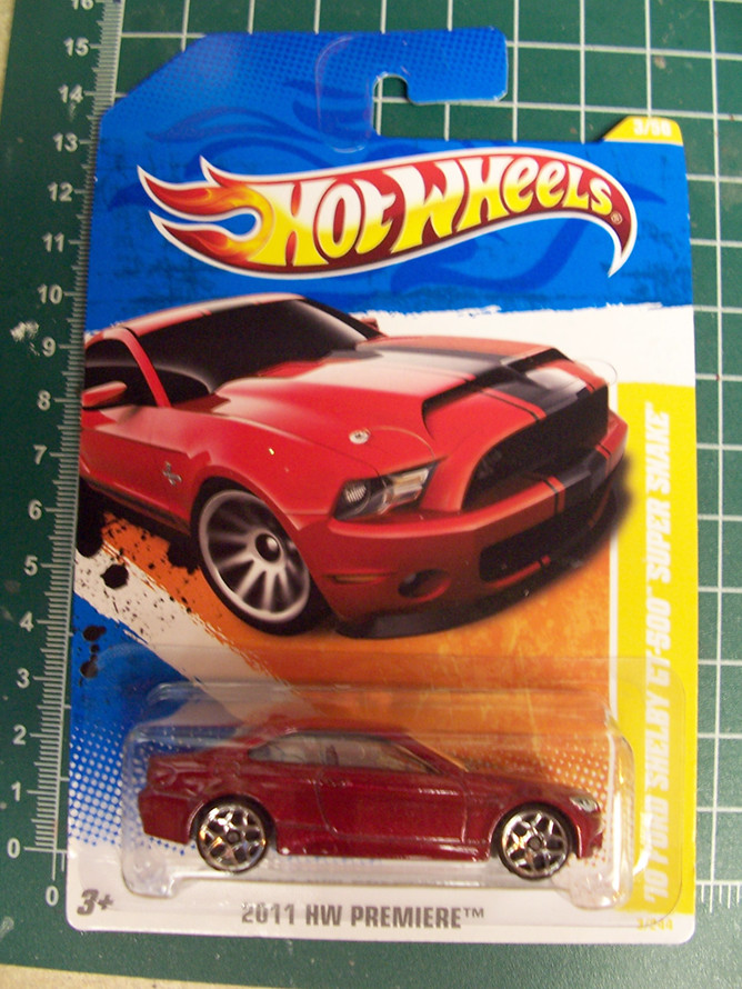 Hot Wheels 2011 BMW M3 mistake card