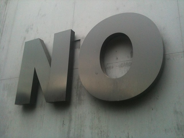No from Flickr via Wylio