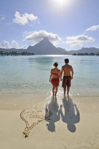 InterContinental Bora Bora Resort & Thalasso Spa Romance on the beach