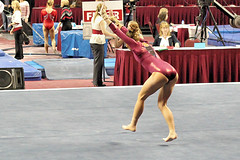 TWU Gymnastics [Floor] Caroline Hilpisch