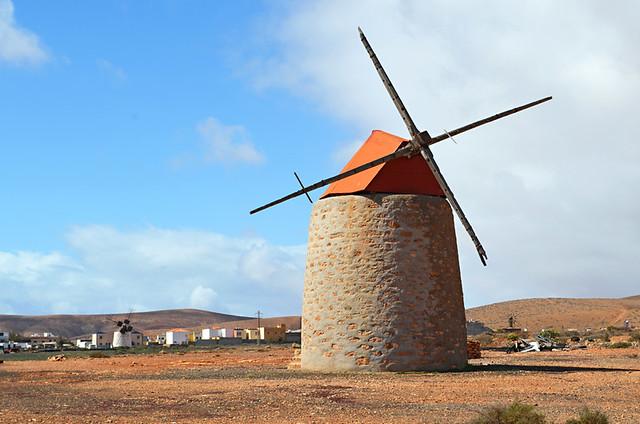 Windmill, Valles de Ortega, Fuerteventura