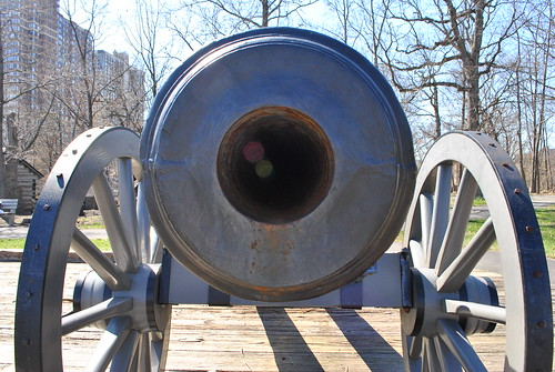 Ft Lee Historic Park - Cannon