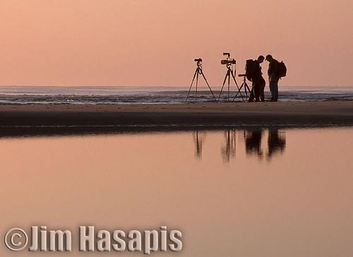 reflection beach sunrise photographer photographers pawleysisland cnpa