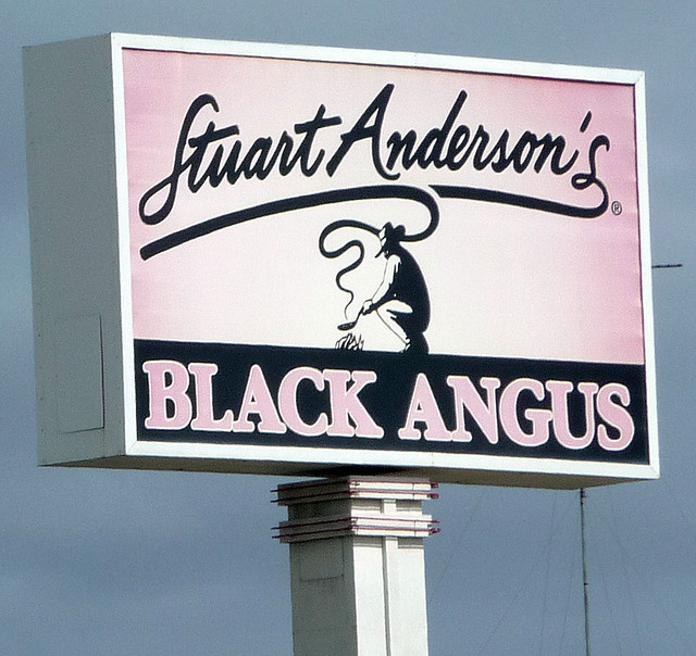 black angus sign flickr photo sharing. Black Bedroom Furniture Sets. Home Design Ideas