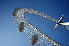 tourist attraction, blue, sky, ferris wheel,