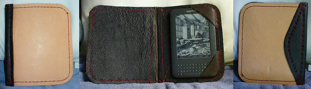 DIY Leather Kindle Cover