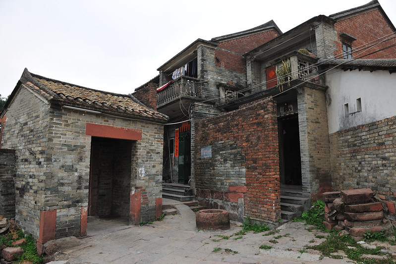 Dongguan Tangwei ancient village-村口门楼