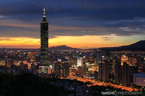 台北夜 Taipei 101, Taipei