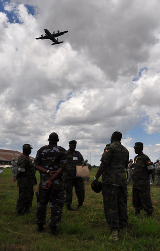 Ugandan army in Soroti, Uganda, April 2011