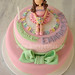 Two-tier ballerina cake by Party Cakes By Samantha