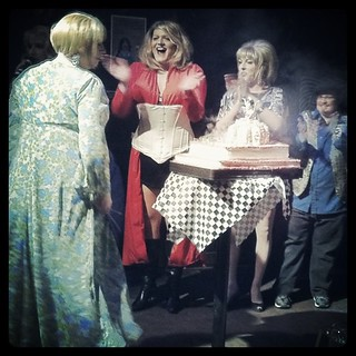 There's nothing like a drag queen's 40th birthday to get the jazz hands moving.