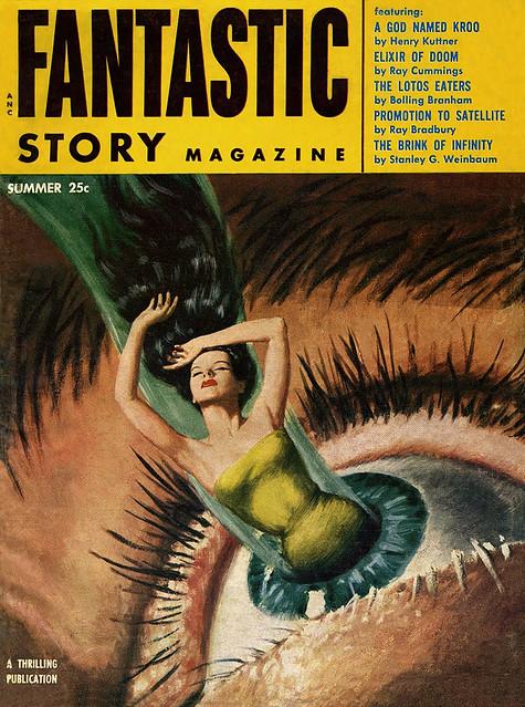 Fantastic Story Magazine 1950 Pulp Comic Books: Fantastic Story Magazine 1954 Summer