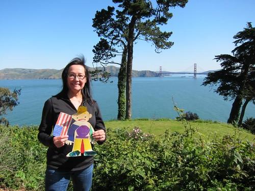 Flat Stanley, San Francisco, Golden Gate Bridge IMG_5587