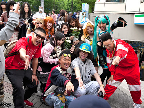Zen La Rock Crew in Harajuku