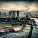 View from Marina Barrage by olivier.gilloire