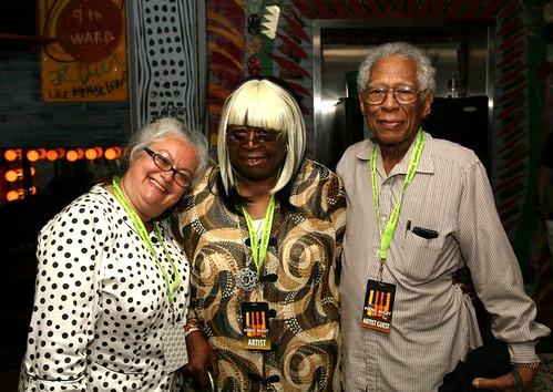 Linda Santi, Carol Fran & Herb Hardesty