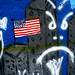 Small photo of US Flag Graffiti 34th Street Wall Gainesville