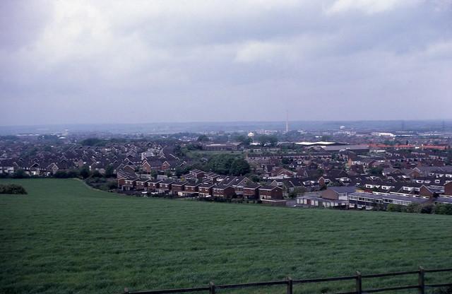 Dunstable panorama 1977