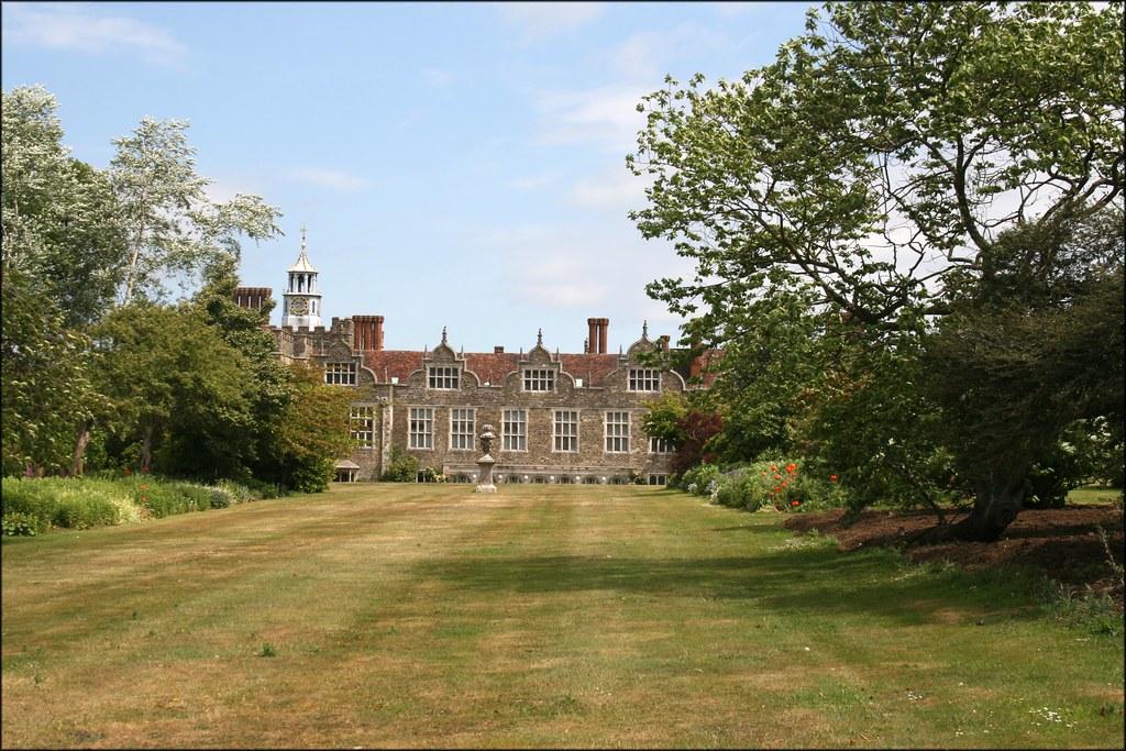 Knole house in Knole Park Sevenoaks, Kent