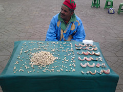 Dentist, Djemaa el Fna, Marrakesh, Morocco