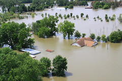 Flooding along Missouri River - June 20, 2011
