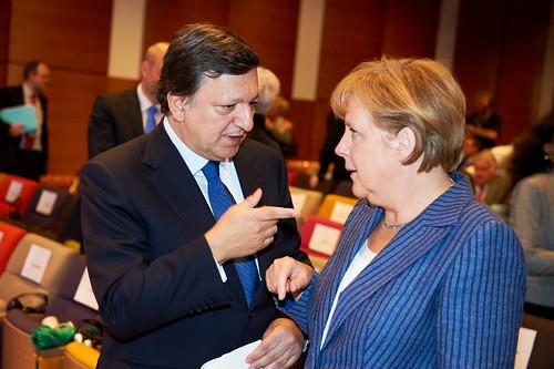Merkel and Barroso