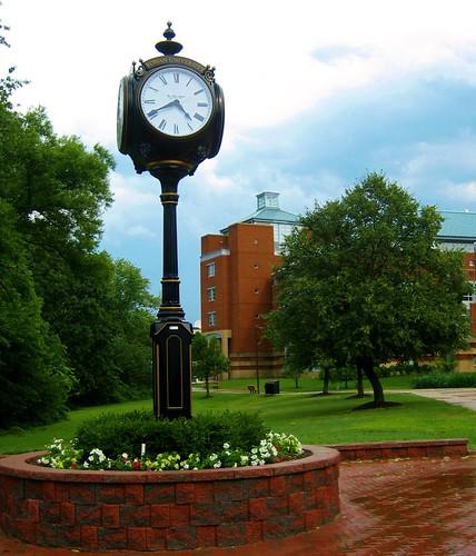 Rowan University Clock by eyes of disarray