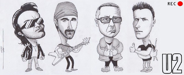 U2,The Edge,Bono,Larry Mullen Jr,Adam Clayton