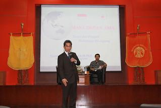 Kuliah Umum Yusron Ihza Mahendra
