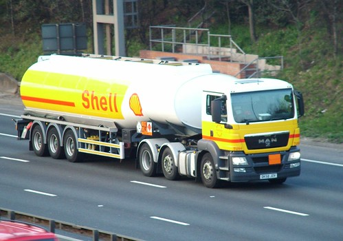 Shell Fuel tanker