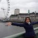 Big hug to London and to all lovely people around me by Clara Ungaretti