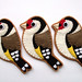Trio of Goldfinches by bugsandfishes by lupin