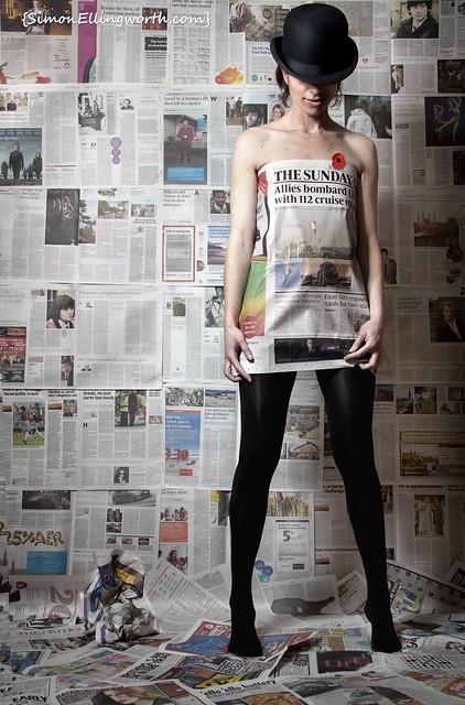 War & Disposable Fashion