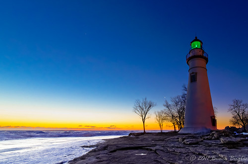 Marblehead Lighthouse at Dawn - EXPLORED #211